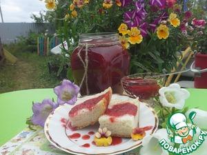 Рецепт Клубничный сироп для десертов