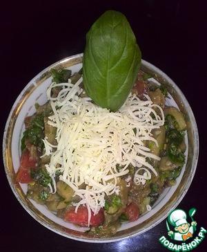Рецепт Баклажановый салатик