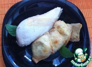 Рецепт Луковые равиоли, запеченные с куриной грудкой