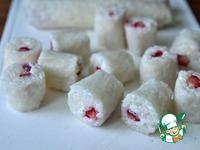 """Сладкие роллы """"Цветок сакуры"""" ингредиенты"""