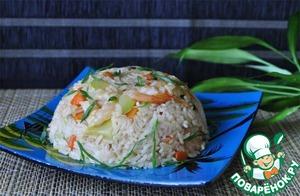 Рецепт Жареный рис по-вьетнамски