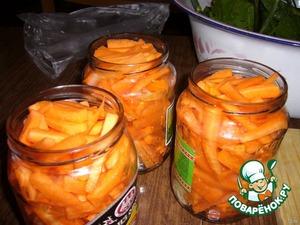 Рецепт: Морковь консервированная