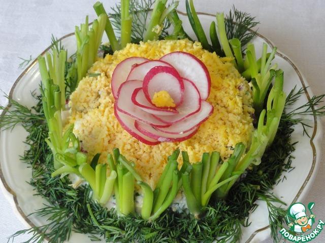 Весенние салаты ко дню рождения