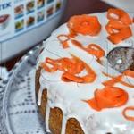 Морковная ромовая баба в мультиварке