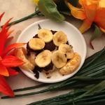 Супер банановый десерт Банановый цветочек
