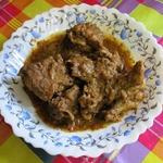 """Мясо по-индо-пакистански """"Ачар гошт"""""""