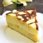 Торт персиковое «Птичье молоко»