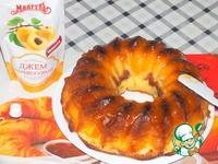 Кекс с творогом и консервированными абрикосами ингредиенты