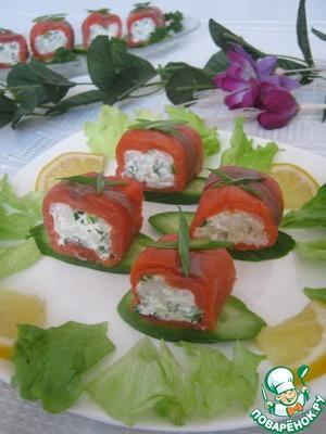 Готовим Закуска рыбная вкусный пошаговый рецепт приготовления с фотографиями