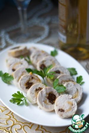 Рулетики из куриного филе вкусный рецепт с фото пошагово