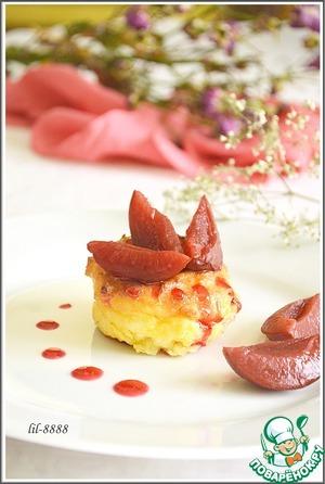 Готовим домашний рецепт с фотографиями Манные пудинги с творогом и фруктами
