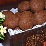 Острое шоколадное печенье
