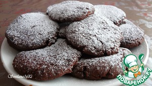 Постное шоколадно-смородиновое печенье простой рецепт приготовления с фото пошагово как готовить
