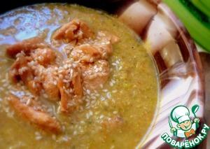 Суп-пюре рыбный