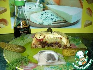 Картофельная запеканка с грибами, луком и вялеными помидорами домашний рецепт с фото пошагово