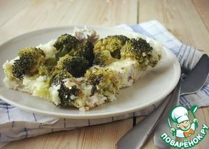Рисовая запеканка с курицей и брокколи вкусный рецепт приготовления с фотографиями готовим