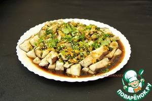 Баклажаны на пару по-сычуаньски. 蒸茄子 вкусный рецепт приготовления с фото пошагово готовим