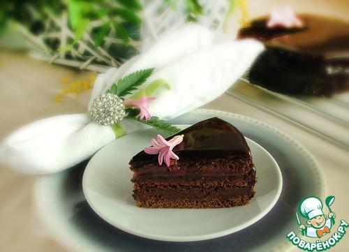 "Малиновый ""Захер торт"""
