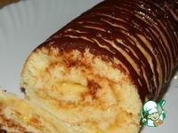 Творожно-ягодный рулет ингредиенты