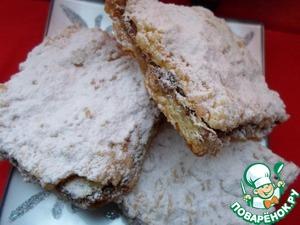 Песочные пирожные с меренгой и орехами вкусный рецепт с фотографиями пошагово
