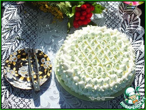 Торт восторг пошаговый фото рецепт