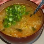 Овощной суп с пшенной крупой