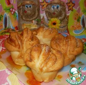 Постные булочки простой рецепт с фотографиями пошагово