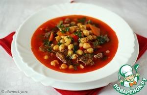 Как готовить Суп из нута рецепт с фото