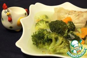 Диетический рыбный супчик с брокколи рецепт с фотографиями как готовить