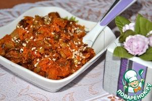 Рецепт Халва из моркови с изюмом, орехами, семечками в мультиварке