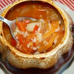 Суп из овощей с рисом в горшочке