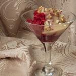 Салат-десерт из свеклы с банановым соусом