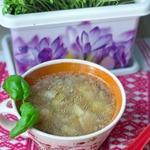 Суп фасолевый с белыми грибами