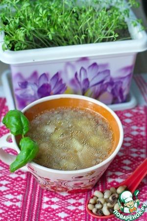 Готовим Суп фасолевый с белыми грибами простой рецепт с фото пошагово
