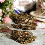Печенье-мюсли с черничным джемом