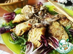 Рецепт Голубцы из савойской капусты с чечевицей