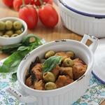 Тушеная телятина с оливками