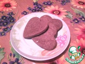 Печенье Сердца вкусный рецепт приготовления с фотографиями