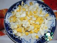 Сырный салат с сухариками ингредиенты