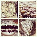 Шоколадно-кокосовый тортик