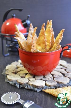 Как готовить Нутовые хрустящие чипсы простой пошаговый рецепт приготовления с фото