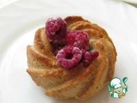 Ореховые мини-тортики с малиновым соусом ингредиенты