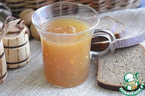 ямксонь кусля(пшенный кисель рецепт мордовской кухни-хв4