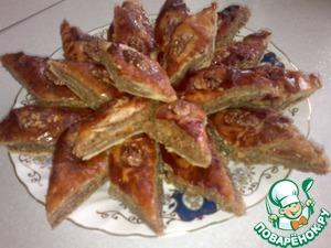 Как готовить Пахлава восточная сладость простой пошаговый рецепт приготовления с фото