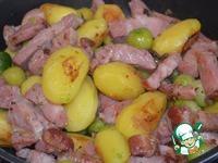 Весенний ужин в деревне ингредиенты