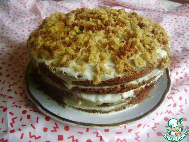 Царское угощение торт рецепт