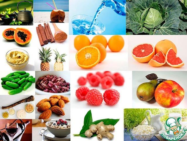 хорошее питание для похудения примерное меню