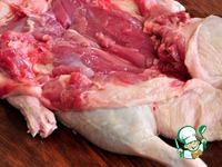 Утка по-царски, фаршированная блинами и клюквой ингредиенты