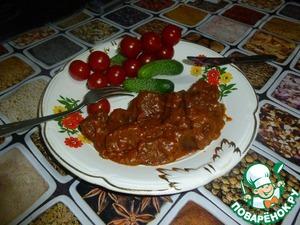 Готовим Мясо в кисло-сладком соусе домашний рецепт с фотографиями пошагово