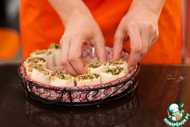 пирог в мультиварке из слоеного теста с фаршем